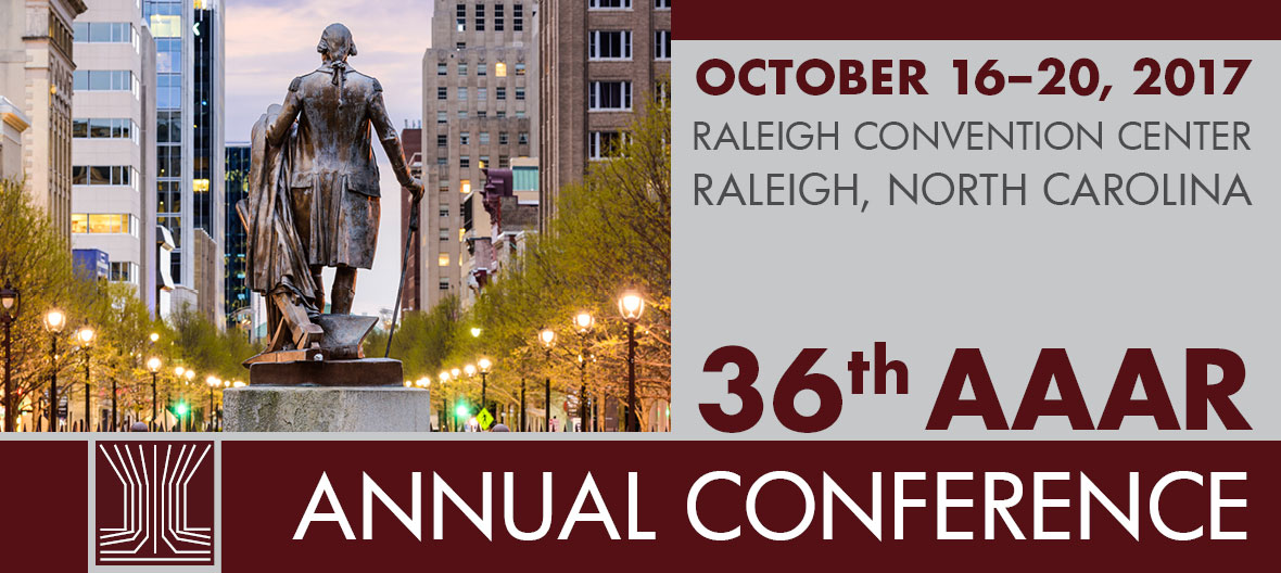 AAAR 36th Annual Conference