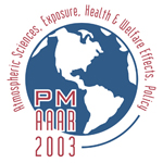 2003 Particulate Matter Conference