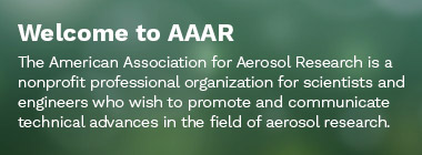Welcome to AAAR